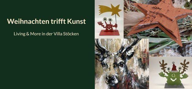 Weihnachten trifft Kunst – Living & More in der Villa Stöcken