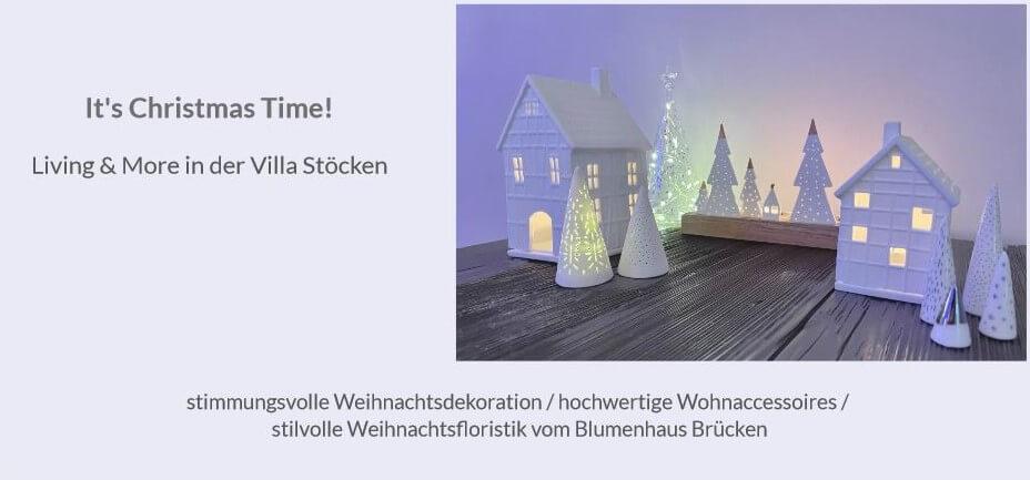 It's Christmas Time! -Living & More in der Villa Stöcken –